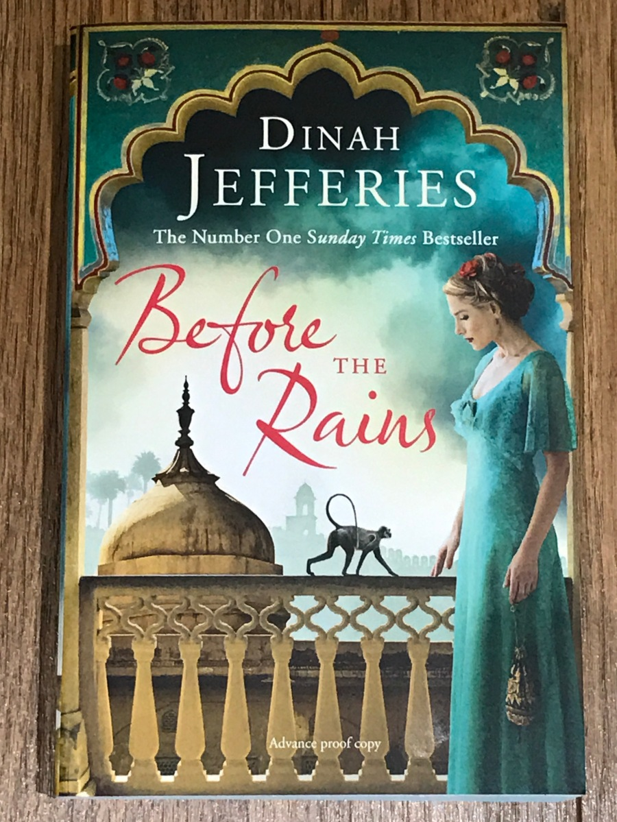 Before The Rains by Dinah Jefferies - Blog Tour